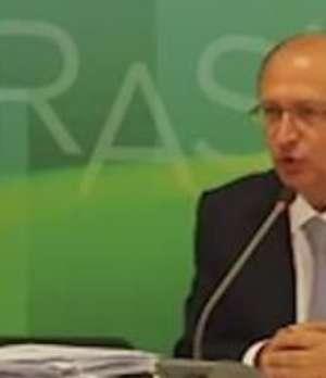 Alckmin diz que não há decisão tomada sobre rodízio de água Video: