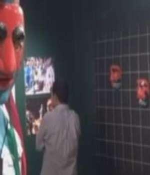Al menos 65 máscaras son exhibidas en el Museo de Arte Popular en El Salvador Video: