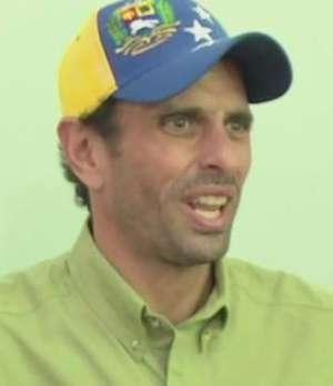 """Capriles: """"El gobierno es capaz de cualquier cosa"""" Video:"""