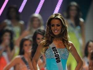 Aferdita Dreshaj, Miss Universo Kosovo 2011 Foto: Getty Images