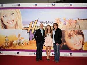 """En 2009, su personaje de Miley Stewart en Hannah Montana llegó a la pantalla grande con la película """"Hannah Montana: The Movie"""". Foto: Getty Images"""