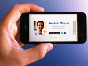 Puedes descargar la app en iPhone y Android Foto: Gentileza