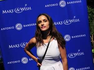 Leonor Varela se emocionó al explicar la importancia de Make a Wish en su vida. Foto: Matías Delacroix / Terra