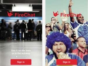 La app permite comunicación aún sin conexión a internet. Foto: FireChat