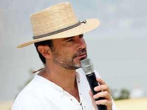Felipe Camiroaga, fue uno de los pololos que tuvo Paz hace algunos años. Foto: Upi