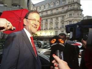 Mariano Rajoy, presidente del gobierno español. Foto: Agencia EFE