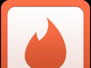 Logo de Tinder Foto: Reproducción