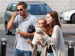 Era habitual que Paul Walker y su hija Meadow pasaran mucho tiempo juntos Foto: Mail online