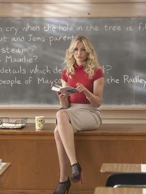 """La actriz Cameron Diaz en una escena de la película """"Bad Teacher"""" en una imagen proporcionada por Columbia Pictures.  Foto: Columbia Pictures - Sony, Gemma LaMana / AP"""