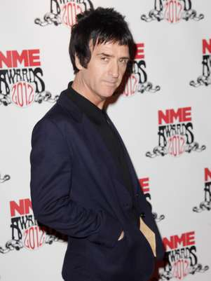 Johnny Marr en la pasada entrega de los NME Music Awards Foto: Getty Images