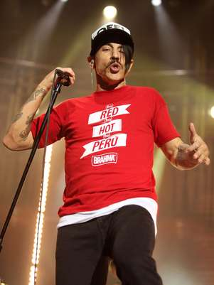 Anthony Kiedis de Red Hot Chili Peppers Foto: Getty Images