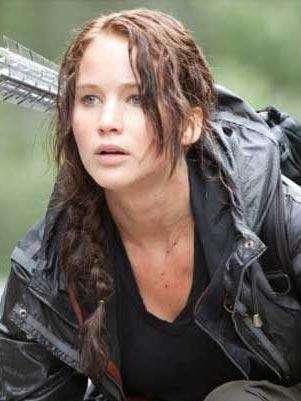 """Jennifer Lawrence en """"Los juegos del hambre"""". Foto: Difusión"""