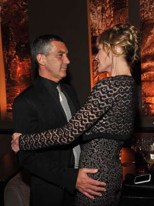Antonio Banderas y Melanie Griffith. Foto: Getty