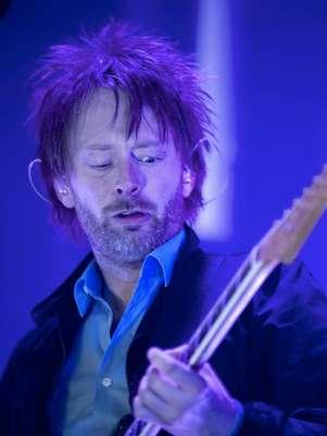 Thom Yorke de Radiohead Foto: AFP