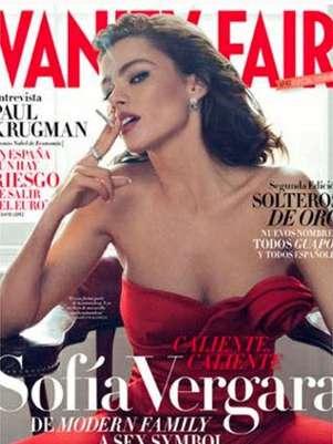 """Sofía Vergara en la portada de """"Vanity Fair"""". Foto: Vanity Fair España"""