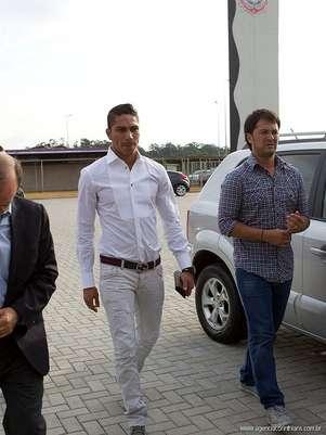 Paolo Guerrero llevará la camiseta número '9' del Corinthians Foto: Corinthians Club
