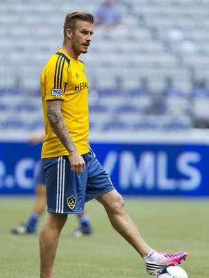 David Beckham estará en el Juego de Estrellas y después viajará a Londres para participar en la inauguración de los Juegos Olímpicos. Foto: Getty Images