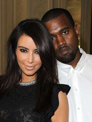 Kanye West y Kim Kardashian tienen cuatro meses de relación. Foto: Getty Images
