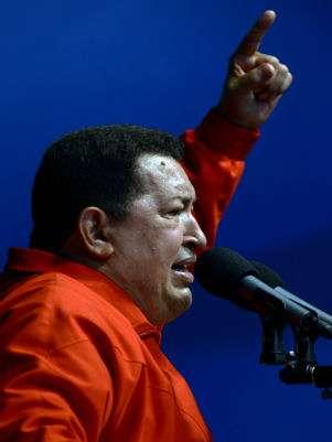 Hugo Chávez Foto: AFP