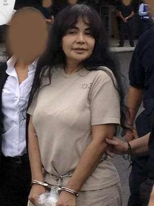 Sandra Ávila al ser extraditada este jueves de México hacia Estados Unidos. Foto: Reuters en español