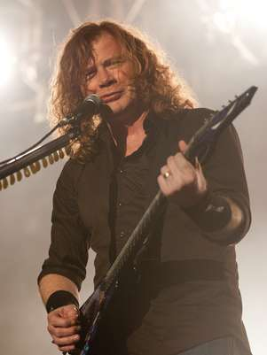 Dave Mustaine de Megadeth Foto: Getty Images