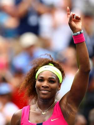 Serena Williams of the United States reacts after defeating Andrea Hlavackova of Czech Republic during their women's singles fourth round match on Day Eight of the 2012 US Open at USTA Billie Jean King National Tennis Center on September 3, 2012 in the Flushing neighborhood of the Queens borough of New York City. Foto: Getty Images