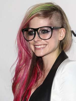 Avril Lavigne y su nuevo look Foto: Daily Mail
