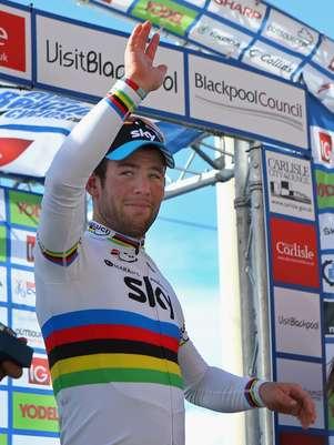 Mark Cavendish, ganó la etapa de 161,4 km, con un tiempo de 3 h 54:30. Foto: Getty images