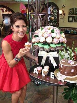 Foto: Alessandra Rosaldo celebra su cumpleaños / Twitter / Terra