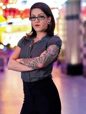 Olivia Black es una chica que no se deja intimidar por nada. Foto: Historu Channel