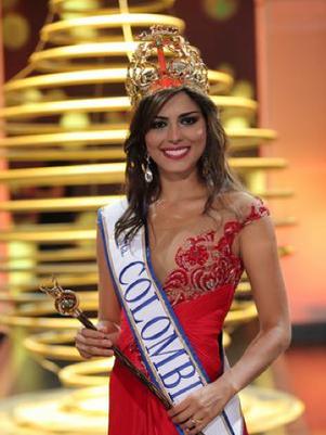 Lucía Aldana Roldán es la nueva soberana de la belleza colombiana. Foto: David Micolta / Terra