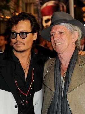 Johnny Depp quiere de nuevo a Keith Richards en película Foto: Getty Images