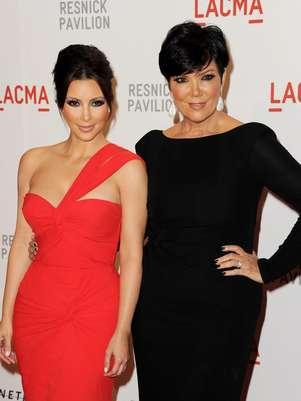 Kim Kardashian tiene a su madre como ejemplo a seguir Foto: Getty Images