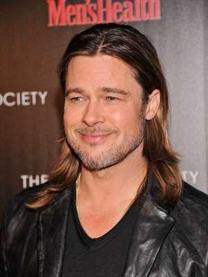 Brad Pitt disruta el desorden de sus hijos Foto: Getty Images