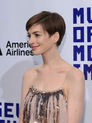 Anne Hathaway cree que los fotógrafos se aprovecharon de su descuido. Foto: Getty Images
