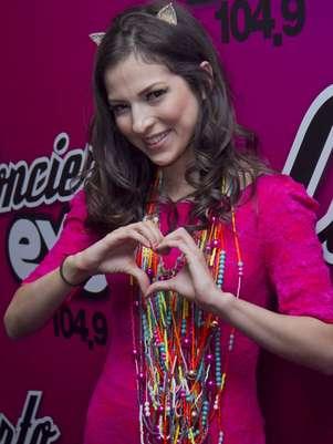 Paty Cantú promueve su más reciente lanzamiento titulado 'Corazón Bipolar'. Foto: Clasos