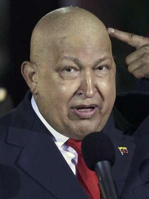 Fotografía del 11 de octubre de 2011 delpresidente de Venezuela, Hugo Chávez. Foto: Ariana Cubillos/Archivo / AP