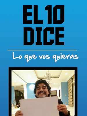 La página para que el Diego diga lo que vos quieras... Foto: Web