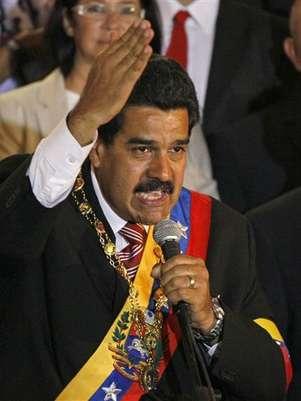 Nicolás Maduro, el 'presidente encargado' de Venezuela. Foto: AP