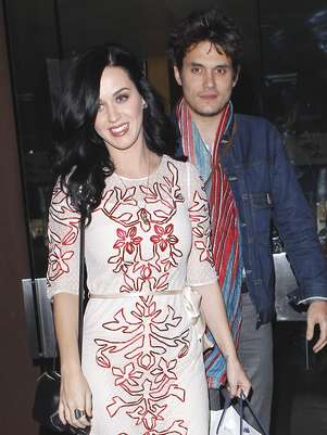 Katy Perry y John Mayer.  Foto: Gtres