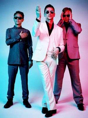 Los componentes de Depeche Mode Foto: Columbia-Sony