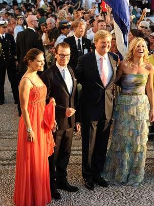 Los príncipes herederos de Holanda y los príncipes herederos de Suecia se encuentran pasando unos días en la localidad almeriense de Agua Amarga.  Foto: Gtres