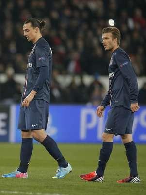 Beckham no iniciaba un duelo de Champions League desde 2010. Foto: AP