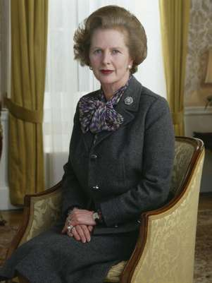 Margaret Thatcher en 1985. Foto: Getty Images