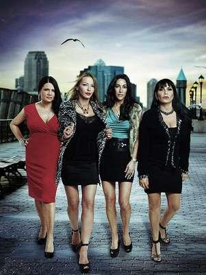 En 'Las Mujeres de la Mafia' cuatro mujeres se enfrentarán a la opinión publica y de ellas mismas. Foto: Cortesía truTV