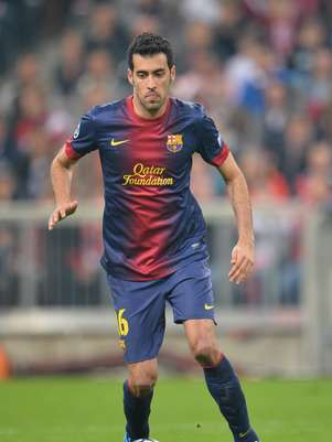 Sergio Busquets will miss the second leg against Bayern Munich because of injury Foto: Getty