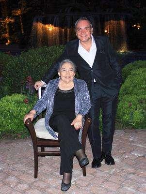 En el cumpleaños N°80 de Alba Rosa Cantillana. Foto: Gentileza.