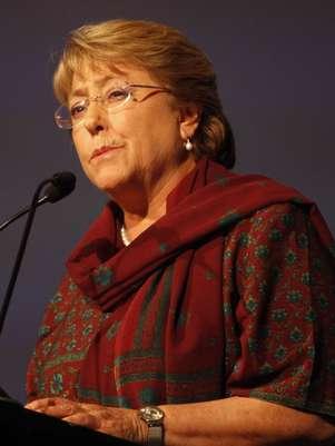 La candidata presidencial la Nueva Mayoría Michelle Bachelet. Foto: UPI