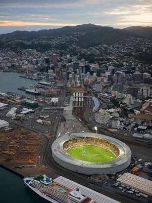 Panorámica del estadio Westpac, sede del partido de vuelta. Foto: Tomada de internet