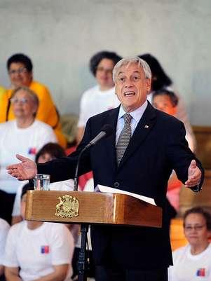 Presidente Piñera. Foto: Agencia Uno/Archivo